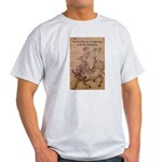 Lao Tzu Philosophy of Tao Ash Grey T-Shirt