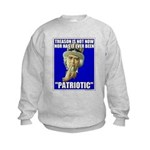Treason Is Not Patriotic Kids Sweatshirt