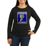 Treason Is Not Patriotic Women's Long Sleeve Dark