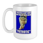 Treason Is Not Patriotic Large Mug