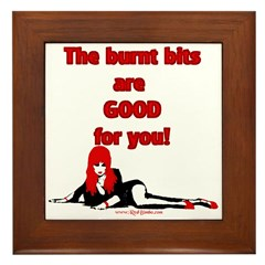 Red Bimbo Kitchen Framed Wall Tile
