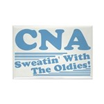 CNA Sweatin' With The Oldies Rectangle Magnet (10