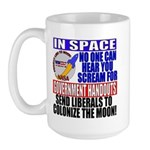 Liberals In Space VRWC  Large Mug
