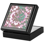 Pastel Damask Keepsake Box