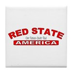 Red State America Tile Coaster