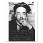 de Broglie: Quantum Waves Small Poster