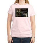 Sir Isaac Newton: Gravity Women's Pink T-Shirt