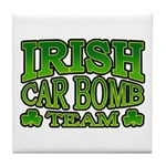 Irish Car Bomb Team Shamrock Tile Coaster