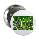 "Irish Car Bomb Team Shamrock 2.25"" Button (100 pac"