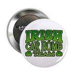 "Irish Car Bomb Team Shamrock 2.25"" Button"
