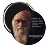 "Charles Darwin: Evolution 2.25"" Magnet (100 pack)"