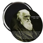 "Charles Darwin: Science 2.25"" Magnet (100 pack)"