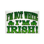 I'm Not White I'm Irish Rectangle Magnet (10 pack)