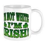 I'm Not White I'm Irish Mug