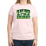I'm Not White I'm Irish Women's Light T-Shirt