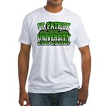 St. Patrick University School of Blarney Fitted T-