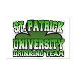 St. Patrick University Drinking Team Mini Poster P