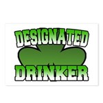Designated Drinker Postcards (Package of 8)
