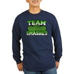 Team Smashed Long Sleeve Dark T-Shirt