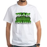 Team Smashed White T-Shirt