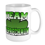 Team Leprechaun Large Mug