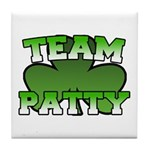 Team Patty Tile Coaster