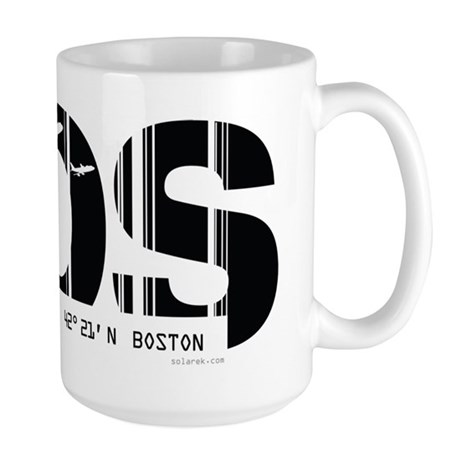 Boston BOS Air Wear Large Mug