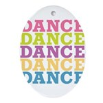 Dance Oval Ornament