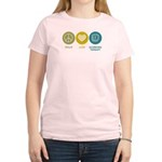 Peace Love Occupational Therapy Women's Light T-Sh