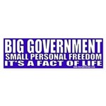 Big Government Bumper Sticker