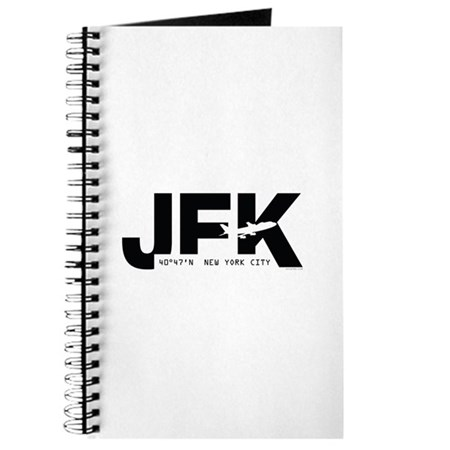 New York City Airport Code JFK Black Des. Journal