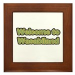 Wasabiland Wasabi Framed Tile
