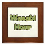 Wasabi Hour Framed Tile