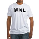 Manila Philippines MNL Air Wear Fitted T-Shirt