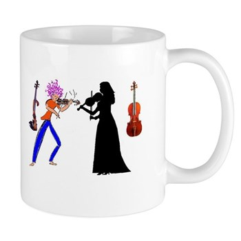 Violin Mug - Quote Augusta Read Thomas