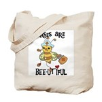 Nurses Are Bee-utiful Tote Bag