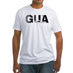 Guatemala City GUA Air Wear Code Fitted T-Shirt