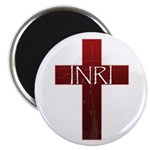 "INRI Cross 2.25"" Magnet (100 pack)"