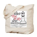 i like the way she moves tote