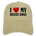 Love My Rescue Dogs Cap