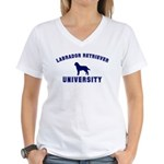 Lab University Women's V-Neck T-Shirt