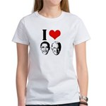 I Heart Obama Biden Women's T-Shirt