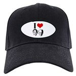 I Heart Obama Biden Black Cap