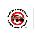 Expensive Gas/Anti-SUV Postcards (Package of 8)