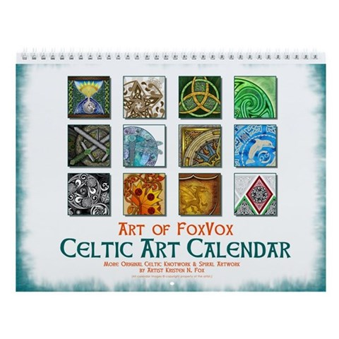 Celtic Art Calendar Front