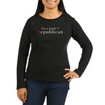 Small r republican Women's Long Sleeve Dark T-Shir