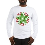 Celtic Christmas Star Long Sleeve T-Shirt
