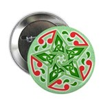 "Celtic Christmas Star 2.25"" Button (100 pack)"