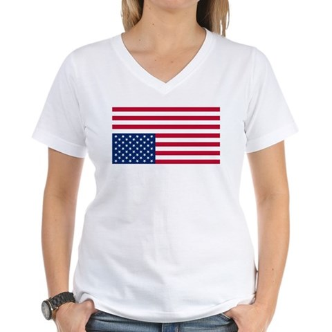 american flag shirts for women. Inverted American Flag