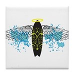 """Surf Angel: Tribe"" Tile Coaster"